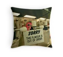 Inconvenience Store Throw Pillow