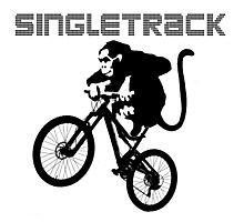 Singletrack mind! Photographic Print
