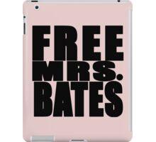 FREE MRS BATES iPad Case/Skin
