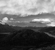 Morning Peaks by Paul Peach