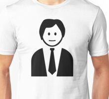 Business man with tie Unisex T-Shirt