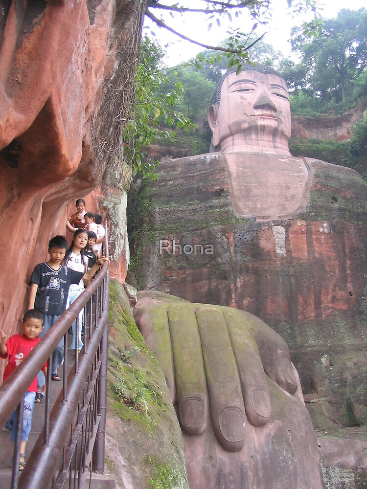 Leshan big Buddha by Rhona