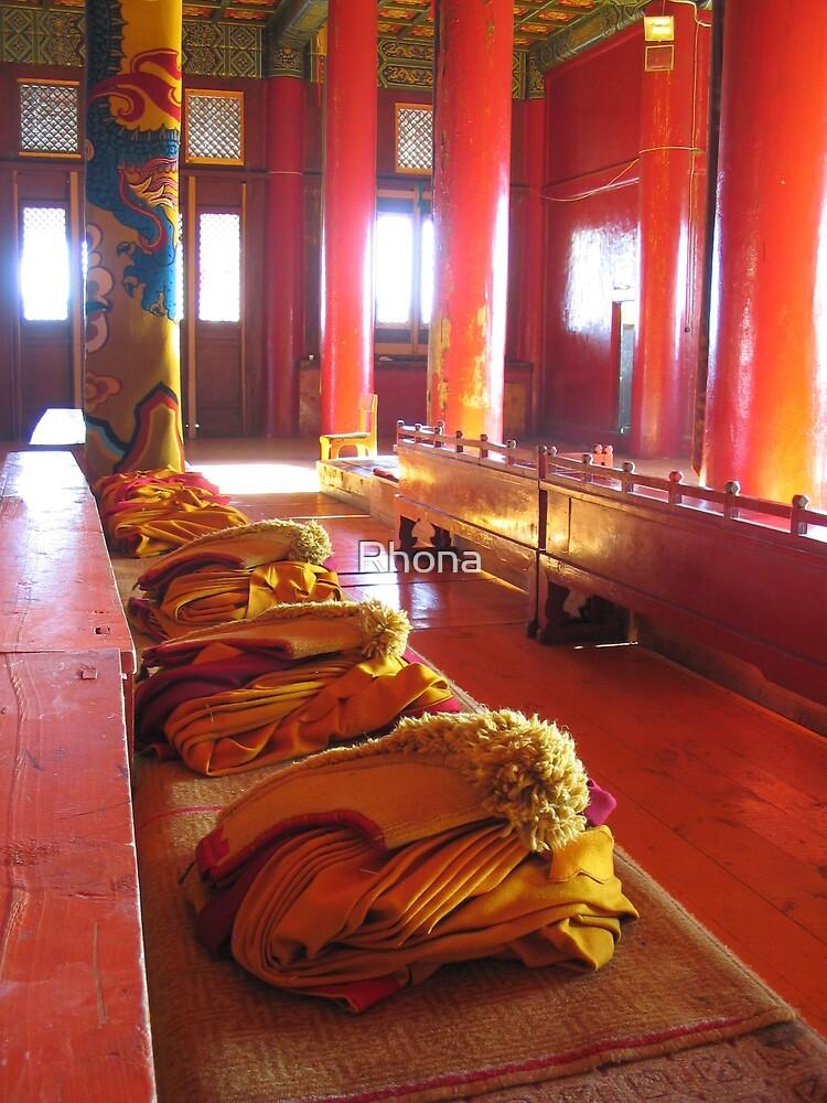 Prayer hall by Rhona
