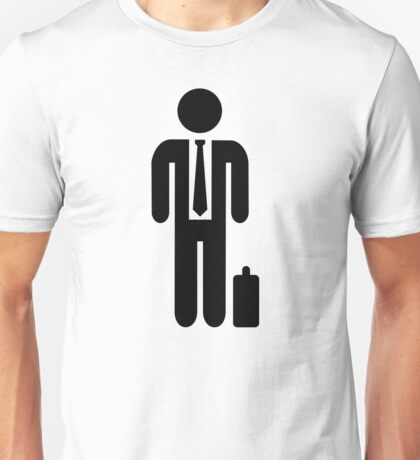 Business man suit Unisex T-Shirt