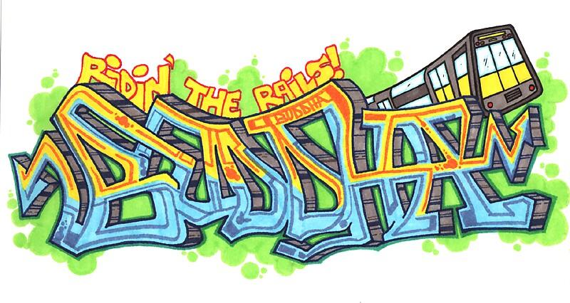 Ridin' the rails by Benjax