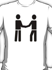 Business men shaking hands T-Shirt