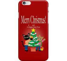 Whim and Sam's Christmas  iPhone Case/Skin