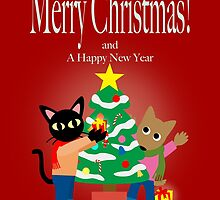 Whim and Sam's Christmas  by BATKEI