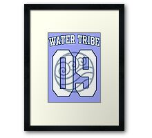 Water Tribe Jersey #09 Framed Print