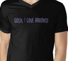 Gosh, I love arrows! Mens V-Neck T-Shirt
