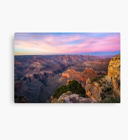 Grand Canyon Spring Sunset, South Rim Canvas Print