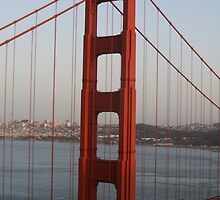 san francisco golden gate bridge by staystained