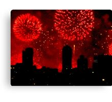 July 4th, New York City Canvas Print