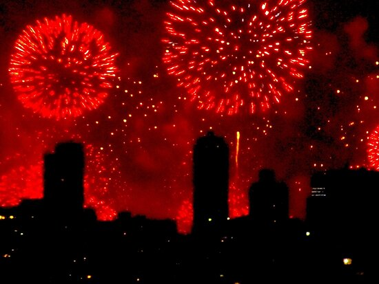 July 4th, New York City by Alberto  DeJesus