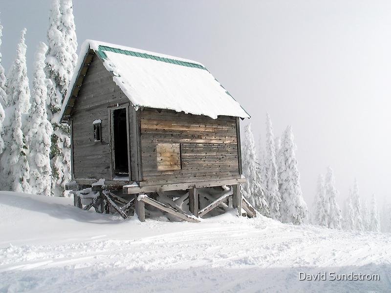 Snow Shack by David Sundstrom
