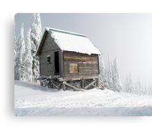 Snow Shack Canvas Print