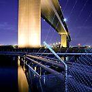 Under The Bridge Downtown... by Tim Heraud