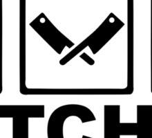 Butcher Sticker