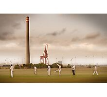 Suburbia comes alive Photographic Print