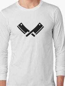 Butcher knives cleaver Long Sleeve T-Shirt