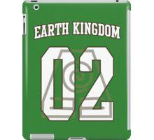 Earth Kingdom Jersey #02 iPad Case/Skin