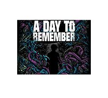 A Day To Remember - Downfall Photographic Print