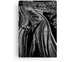 My Way or the Highway Canvas Print