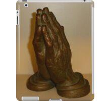 His Hands iPad Case/Skin
