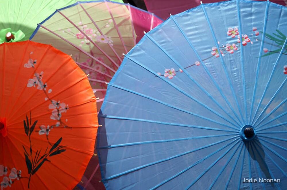 Umbrellas in the Sun by Jodie Noonan