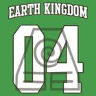 Earth Kingdom Jersey #04 by iamthevale