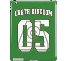 Earth Kingdom Jersey #05 iPad Case/Skin