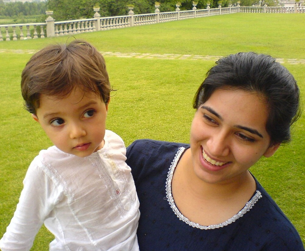 Oldest nephew, youngest aunt by Ameel Khan