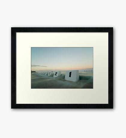 mereweather baths 4 Framed Print