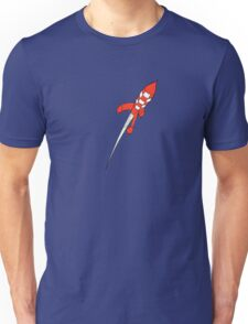 Tintin Destination Moon Rocket Unisex T-Shirt