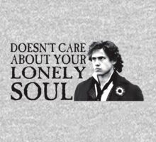 Who Cares About Your Lonely Soul?  One Piece - Long Sleeve