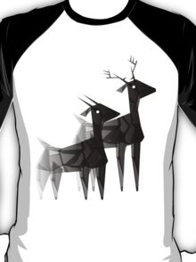 Geometric animals 4 T-Shirt