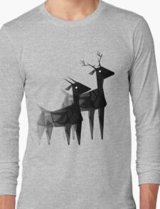 Geometric animals 4 Long Sleeve T-Shirt