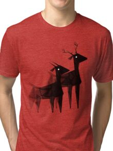 Geometric animals 4 Tri-blend T-Shirt