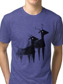 Geometric animals 4 Tri-blend T-Shirt