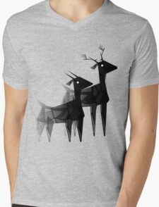 Geometric animals 4 Mens V-Neck T-Shirt