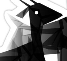 Geometric animals 4 Sticker