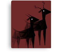 Geometric animals 4 Canvas Print