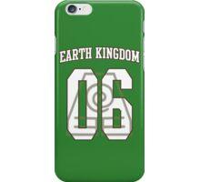 Earth Kingdom Jersey #06 iPhone Case/Skin