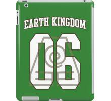 Earth Kingdom Jersey #06 iPad Case/Skin