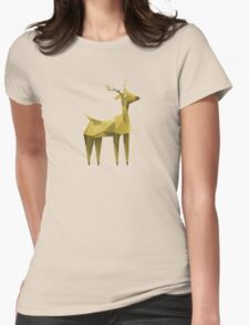 Geometric animals 2 Womens Fitted T-Shirt
