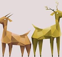 Geometric animals 1 by Feindherz