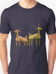 Geometric animals 1 Unisex T-Shirt