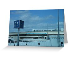 Departures Greeting Card