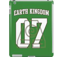 Earth Kingdom Jersey #07 iPad Case/Skin