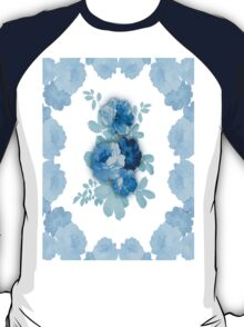 Blue Rose Flowers #2 T-Shirt